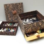 Drawer & hidden compartment open