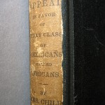 After: detail, spine label